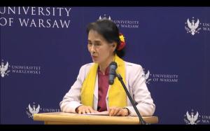 Aung San Suu Kyi - Business Heels