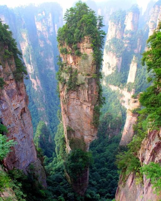 Góry Tianzi Chiny